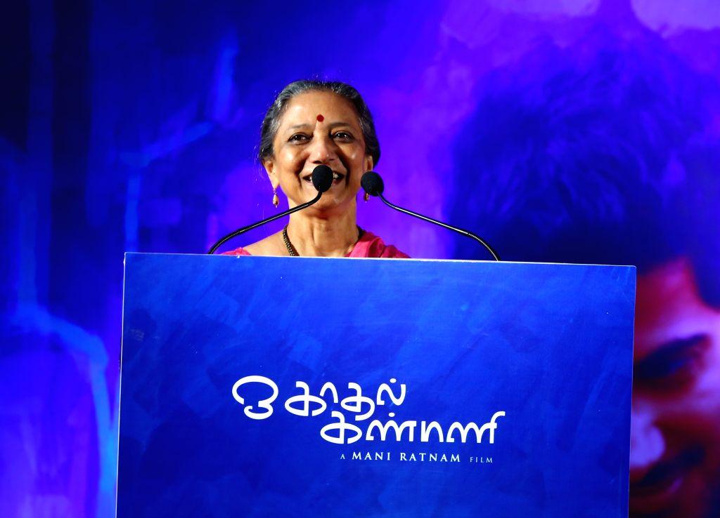 Audio Success Press Meet of Tamil film `O Kadhal Kanmani`.