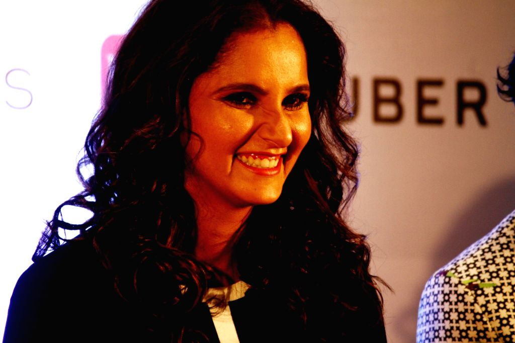 Chennai: Badminton player Sania Mirza during a programme in Chennai on April 15, 2017. (Photo: IANS) - Sania Mirza
