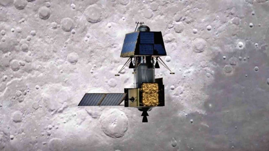 Chennai: India's first moon lander Vikram successfully separated from its mother spacecraft Chandrayaan-2 on Monday at 1.15 a.m., said Indian Space Research Organisation (ISRO). According to ISRO, the Vikram Lander is currently located in