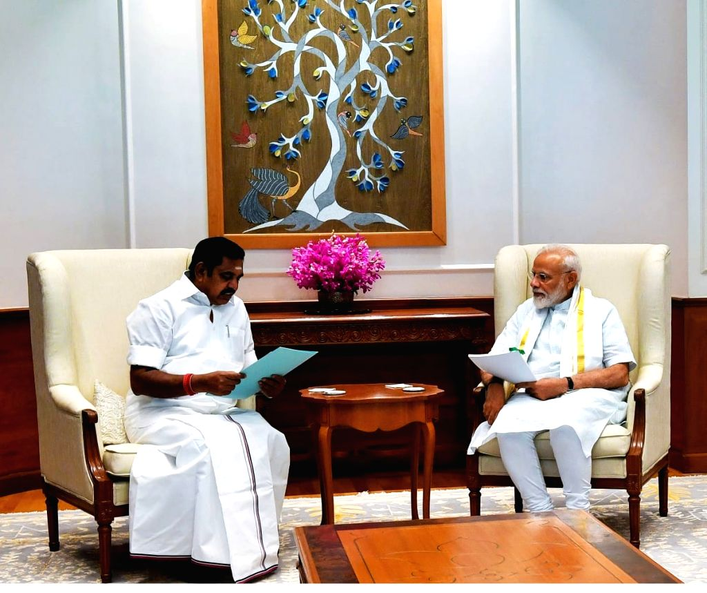 Chennai, March 27 (IANS) Prime Minister Narendra Modi on Friday enquired with Tamil Nadu Chief Minister K. Palaniswami on the steps taken to prevent the spread of coronavirus in the state. (File Photo: IANS) - Narendra Modi