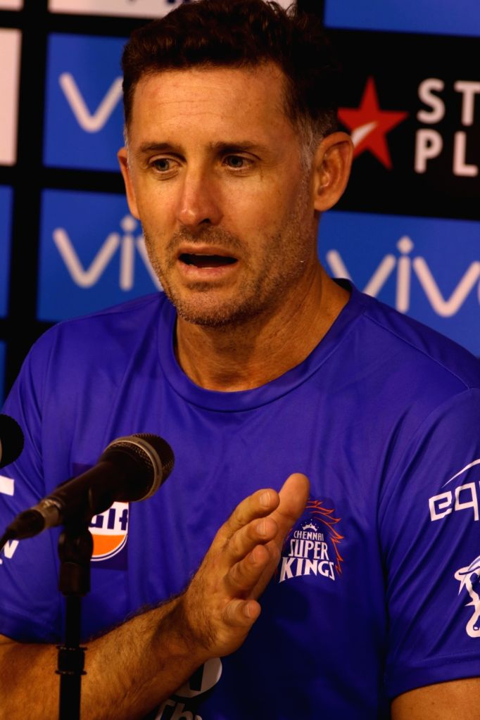 Chennai, May 9 (IANS) Former India cricketer S. Badrinath along with Saravana Kumar launched MFORE, a Non-Profit Initiative offering Mind Conditioning Programs to achieve peak performance in sports and former Australia batsman Michael Hussey has cong - Michael Hussey and Saravana Kumar