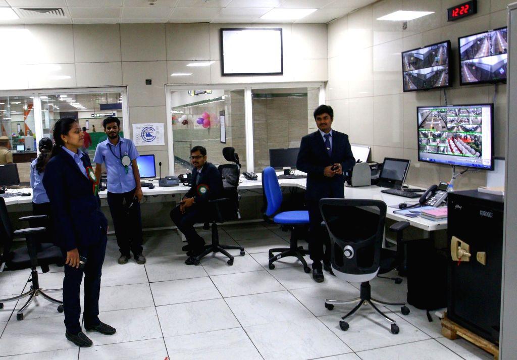 Chennai Metro staff on May 25, 2018.