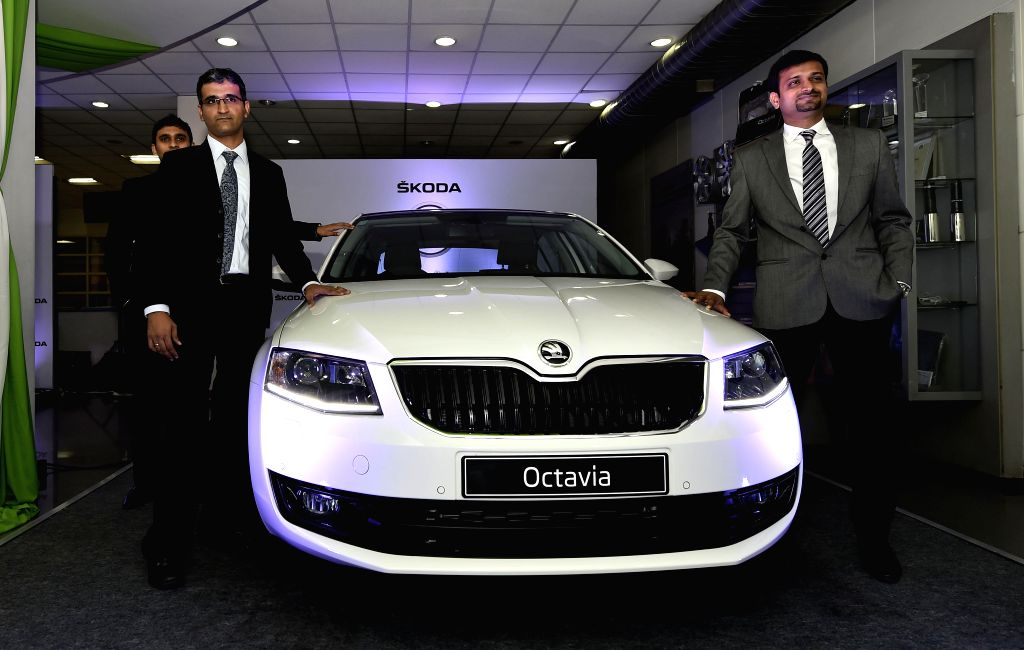 Regional Sales Manager of Skoda Auto India (South and West) Mahesh Tiwariat the launch of the Zeal Edition in Chennai on March 17, 2015.