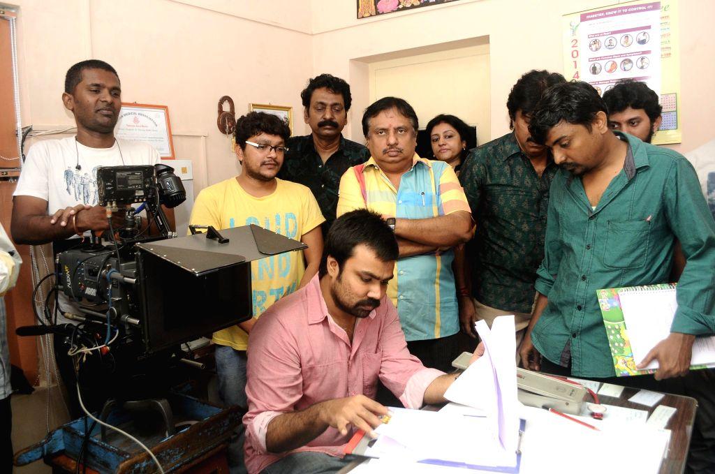 Shooting from Tamil film `Oru Pakka Kathai`.