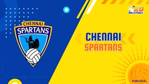 Chennai Spartans. (Photo: Twitter/@ProVolleyballIN)
