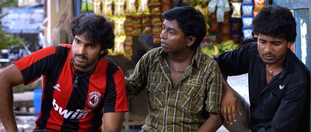Stills from Tamil film `Chandra Kala`.