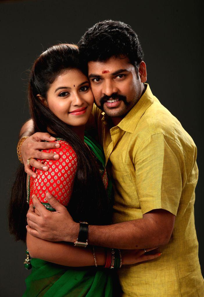 Stills from Tamil film `Mapla Singam`.