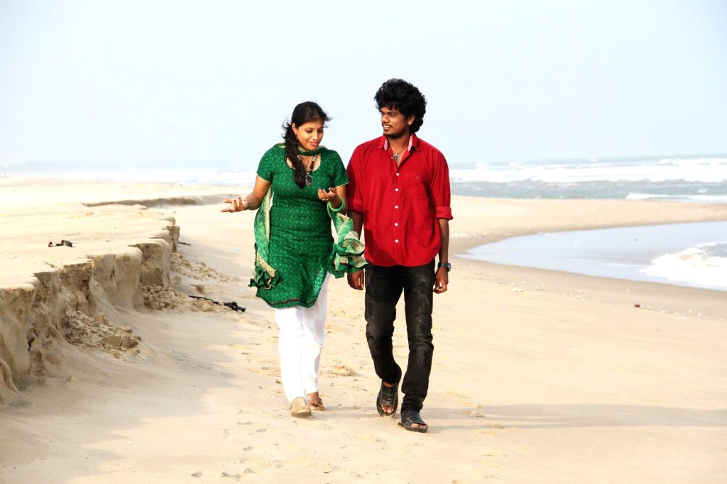 Stills from tamil film `Naangellam Edagoodam`.