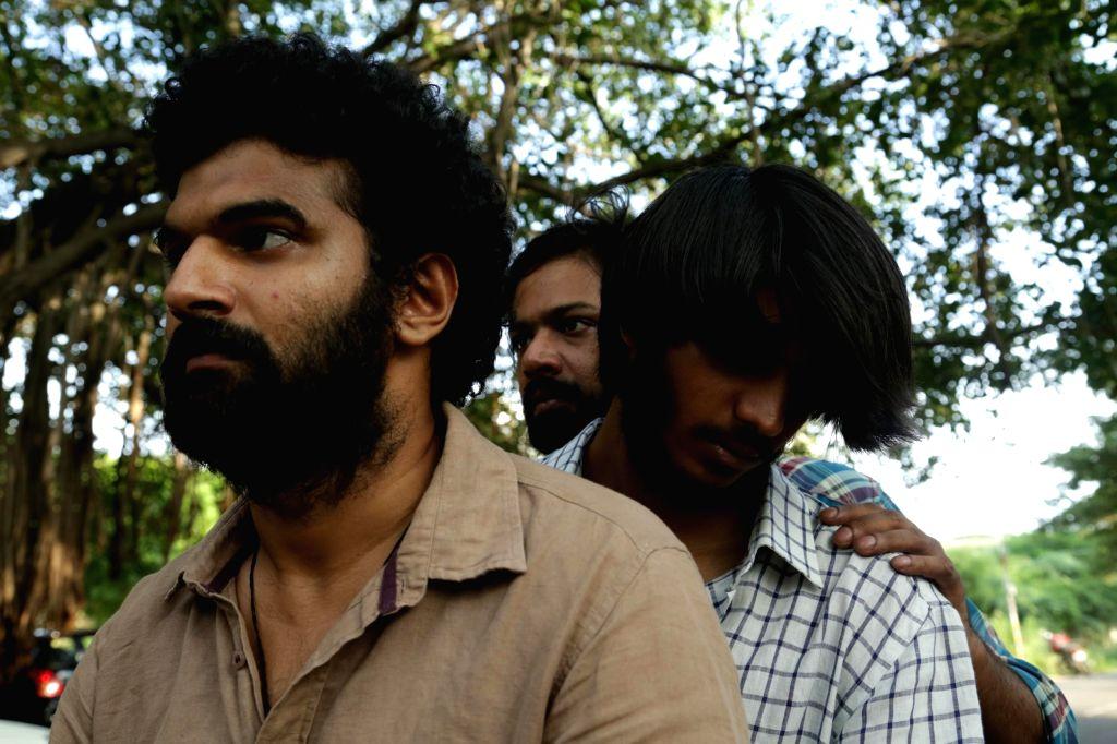 Stills from Tamil film Pisasu.