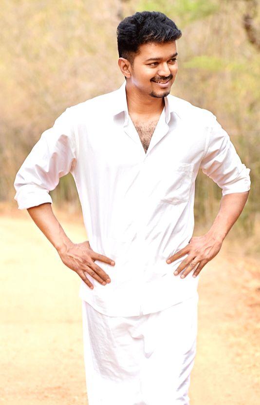 Stills from Tamil film `Puli`.