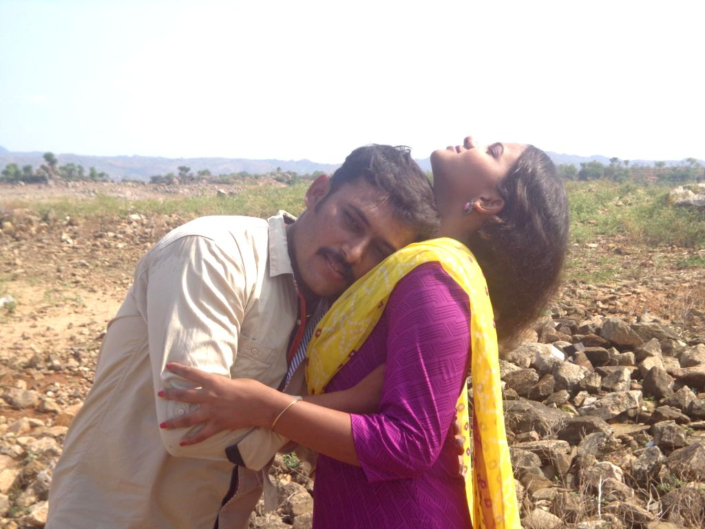 Stills from Tamil film `Saanthan`.