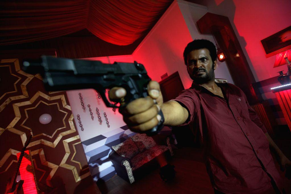Stills from Tamil film `Thiranthidu Seese`.