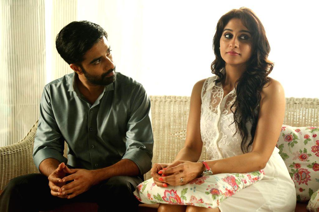 Stills from upcoming Tamil film `Rajathandhiram`.