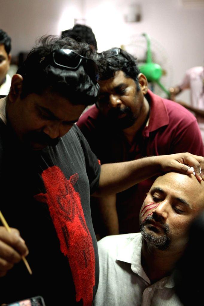 Stills from upcoming Tamil film `Pisasu`.