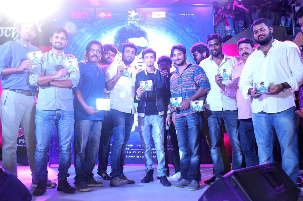 Tamil film 'Aakko' - music launch.