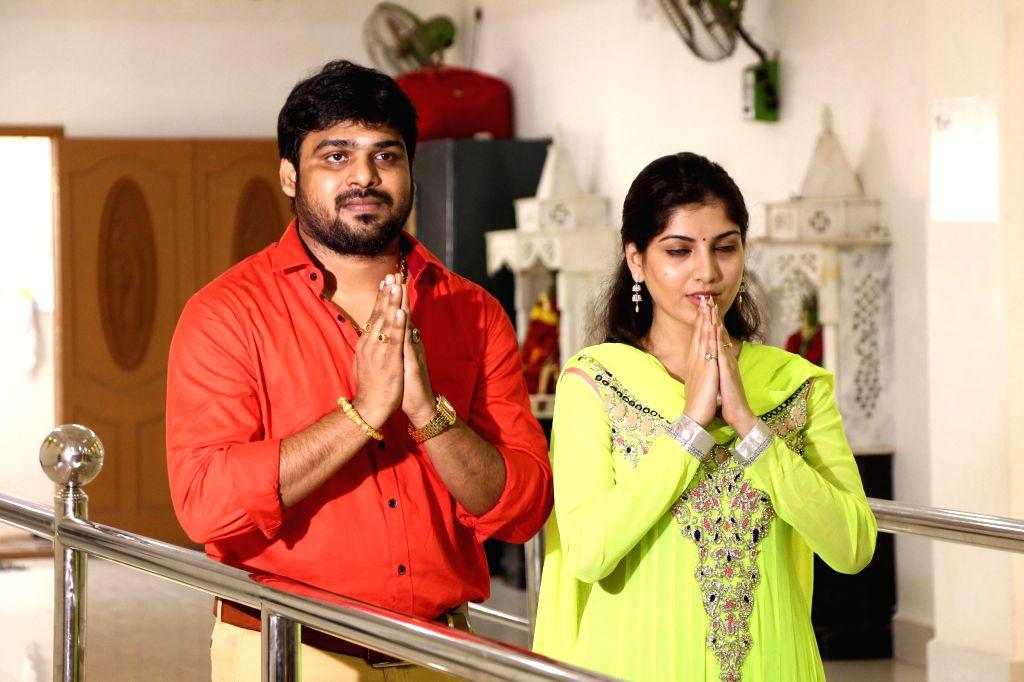 Tamil movie Raavaa movie pooja stills