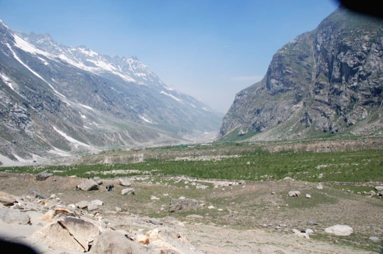 Chhatru, Chandra Valley, Lahaul Spiti H.P, Forest Dept Successful Plantation Drive. (Photo: Milap Sharma) - Milap Sharma