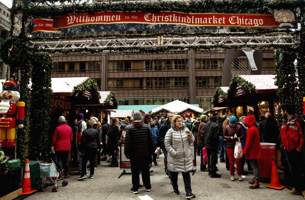 Chicago Christmas Market.U S Chicago Christmas Market