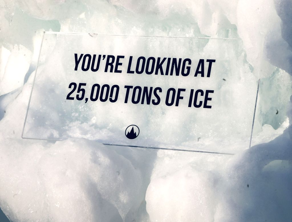 CHICAGO, Feb. 25, 2019 - The photo shows the ice castles made of about 25,000 tons of ice in Lake Geneva, Wisconsin, the United States, on Feb. 24, 2019. The ice castles are on display in Lake Geneva ...