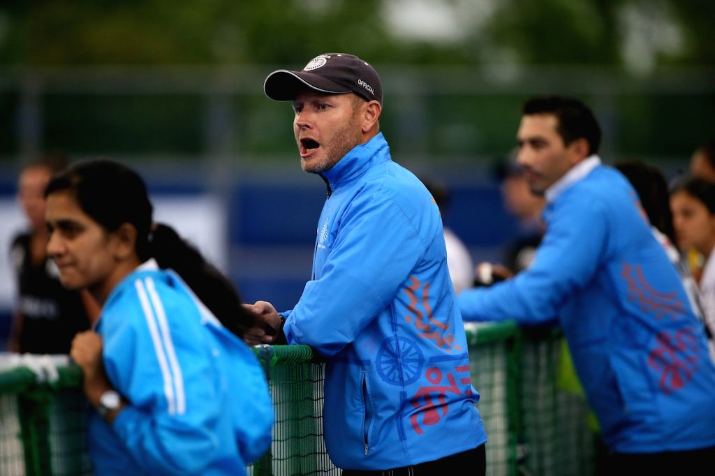 Chief Coach Sjoerd Marijne under which the 18-member Women's Hockey team will represent India in the forthcoming Tokyo Olympics 2020 Test Event scheduled to take place in Tokyo, Japan from 17th - ...