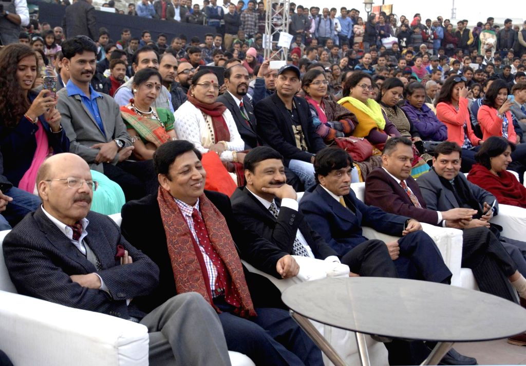"Chief Election Commissioner Dr. Nasim Zaidi at the valedictory function of the ""Matdaata Mahotsav 2016"", in New Delhi on Jan 17, 2016."