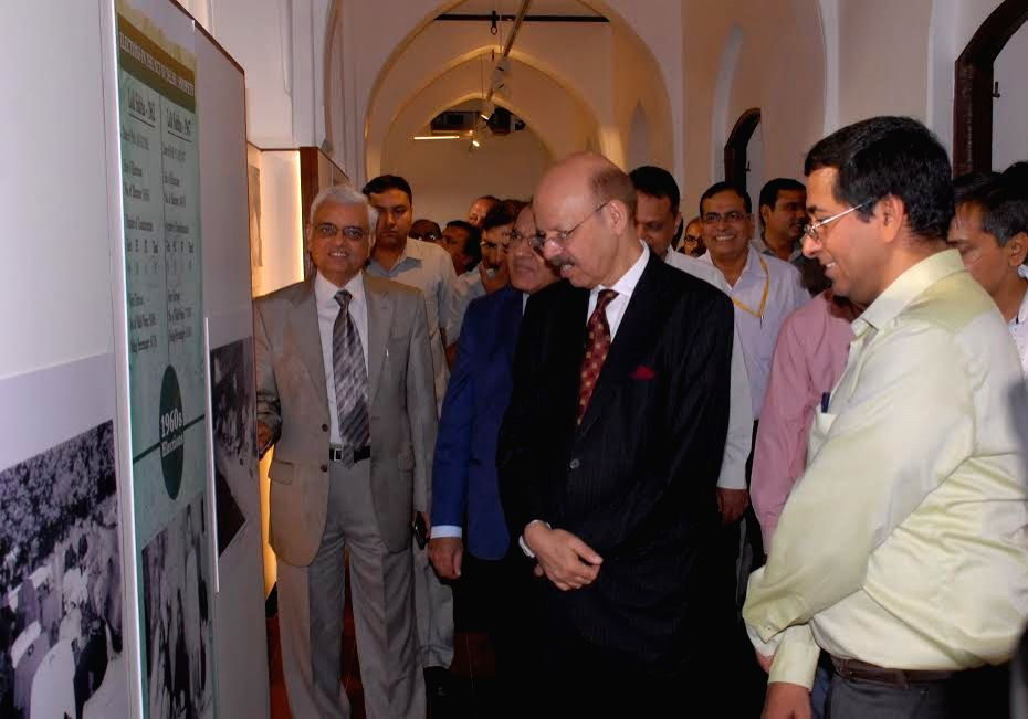 Chief Election Commissioner Nasim Zaidi inaugurates museum, showcasing Indian Election History, at Chief Electoral Office in Delhi on Tuesday.