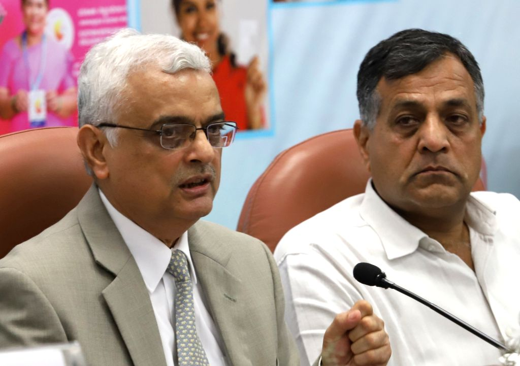 Chief Election Commissioner Om Prakash Rawat addresses a press conference in Bengaluru on April 6, 2018.