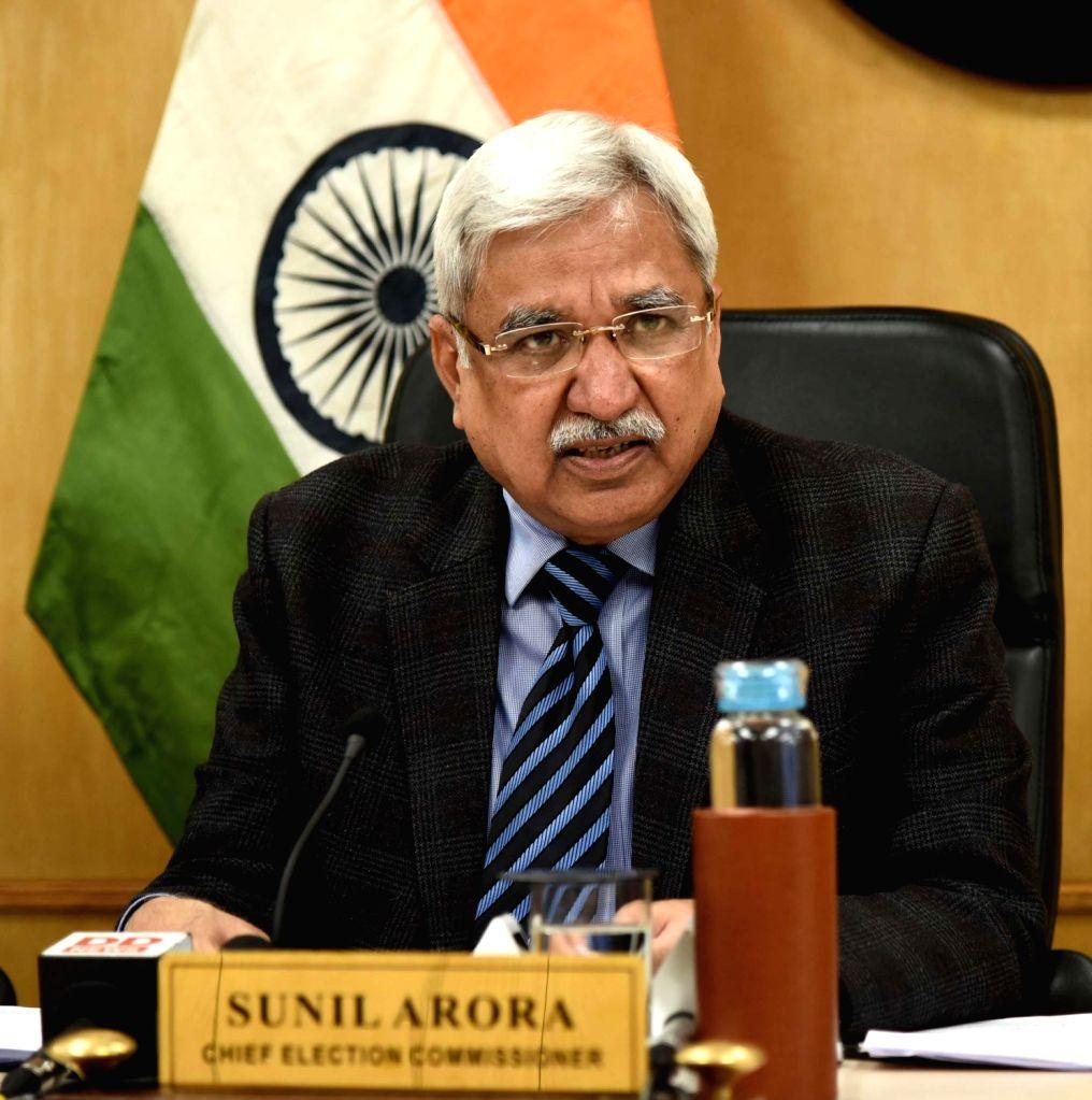 Chief Election Commissioner Sunil Arora