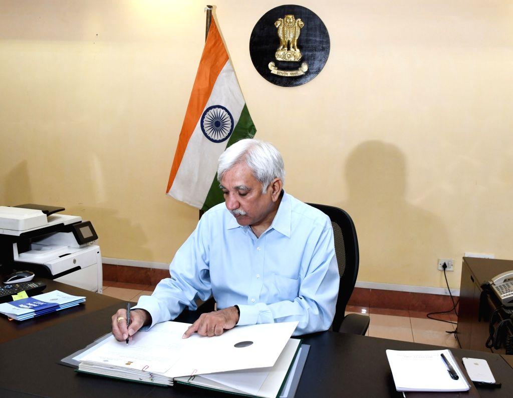 Chief Election Commissioner Sunil Arora. (File Photo: IANS/PIB)