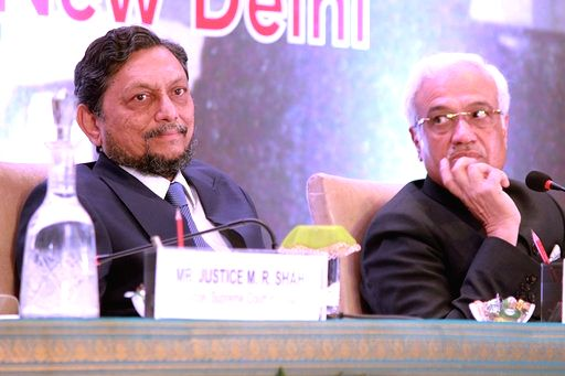 Chief Justice of India, Justice Sharad Arvind Bobde at the 79th Foundation Day Celebrations and All India Members' Conference of the Income Tax Appeallate Tribunal, in New Delhi on Jan 24, ...