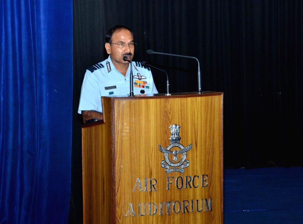 Chief of the Air Staff, Air Chief Marshal Arup addresses at the inauguration of '1st Air Veterans' Rally', in New Delhi on September 07, 2014.