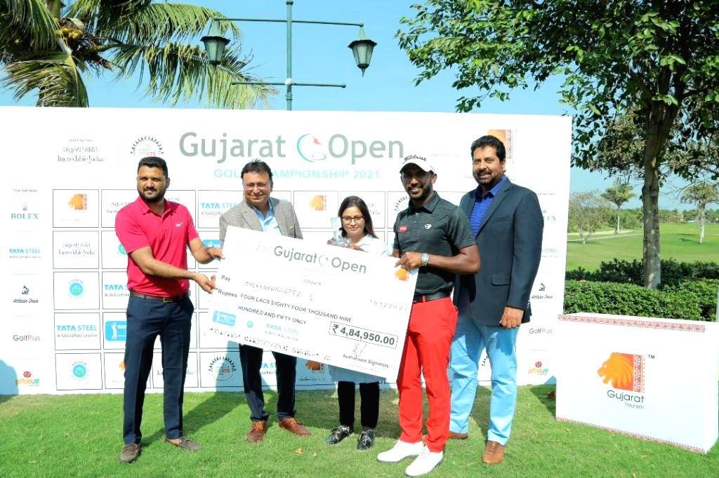 Chikkarangappa rallies to win Gujarat Open golf title