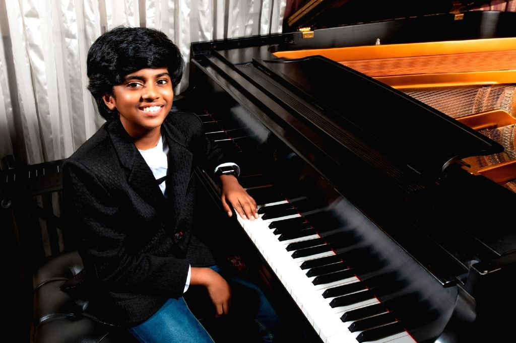 Child prodigy pianist Lydian Nadhaswaram enjoyed meeting Ellen Degeneres, and says the comedian-host was very kind and encouraged him a lot.