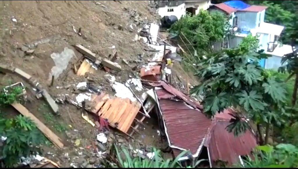 children killed in Mizoram building collapse.