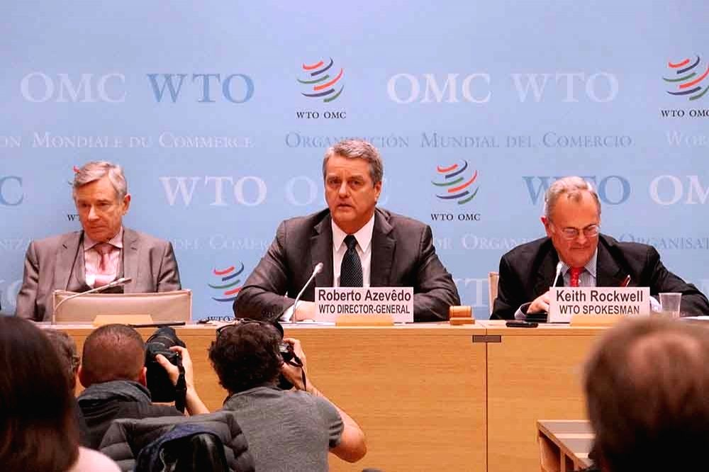 China criticizes US for postponing WTO appeals organization.