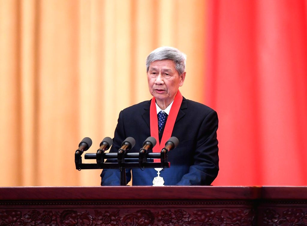 China's top science award winner Zeng Qingcun, a famous meteorologist from the Institute of Atmospheric Physics under the Chinese Academy of Sciences (CAS), ...