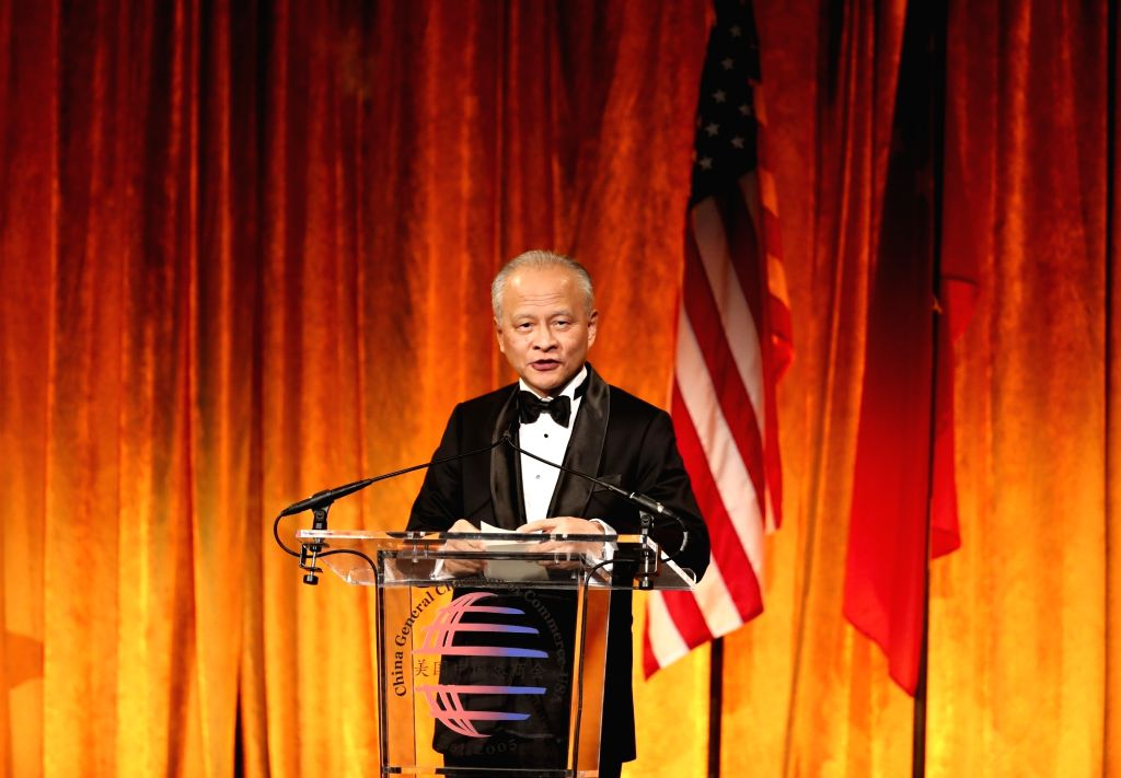 Chinese Ambassador to the United States Cui Tiankai. (Xinhua/Wang Ying/IANS)