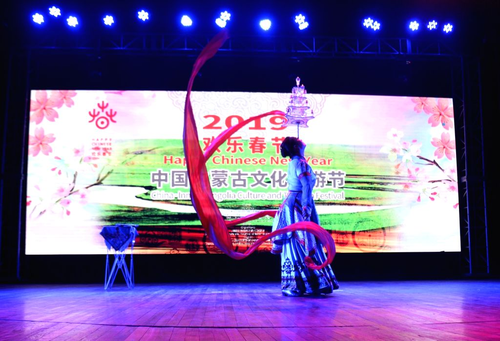 Chinese New Year celebrations underway in Kolkata on Jan 28, 2019.