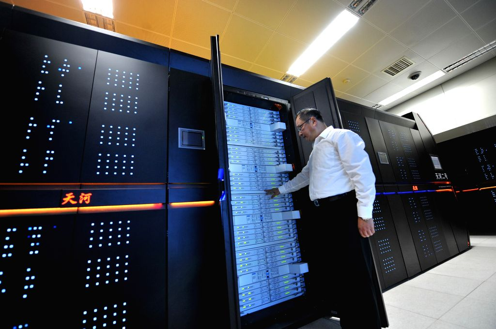 Chinese researchers have developed a system based on a supercomputer to forecast the spread trend of COVID-19 and evaluate the effect of prevention and control, according to the Science and Technology Daily.