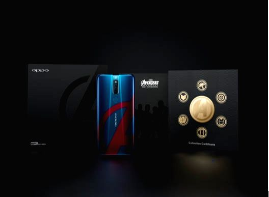 Chinese smartphone maker OPPO on Friday launched a new F11 Pro Marvel???s Avengers Limited Edition smartphone in collaboration with Marvel Studios.