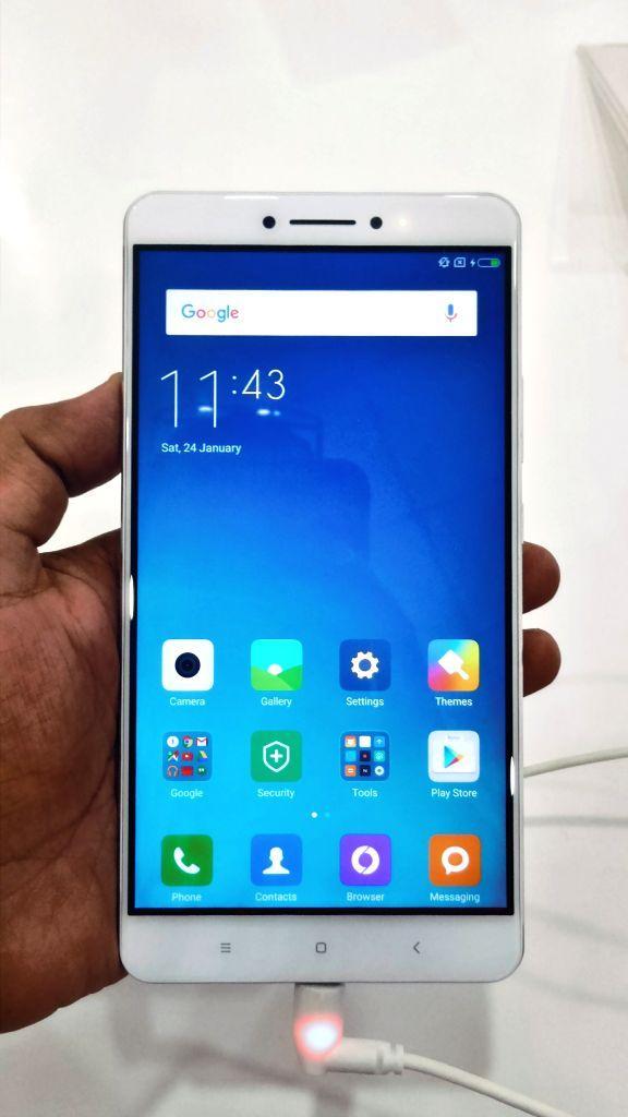 Chinese smartphone maker Xiaomi launched Mi Max -- a 6.44-inch smartphone in India available from Rs 14,999. It also launched its next generation Android-based operating system MIUI 8