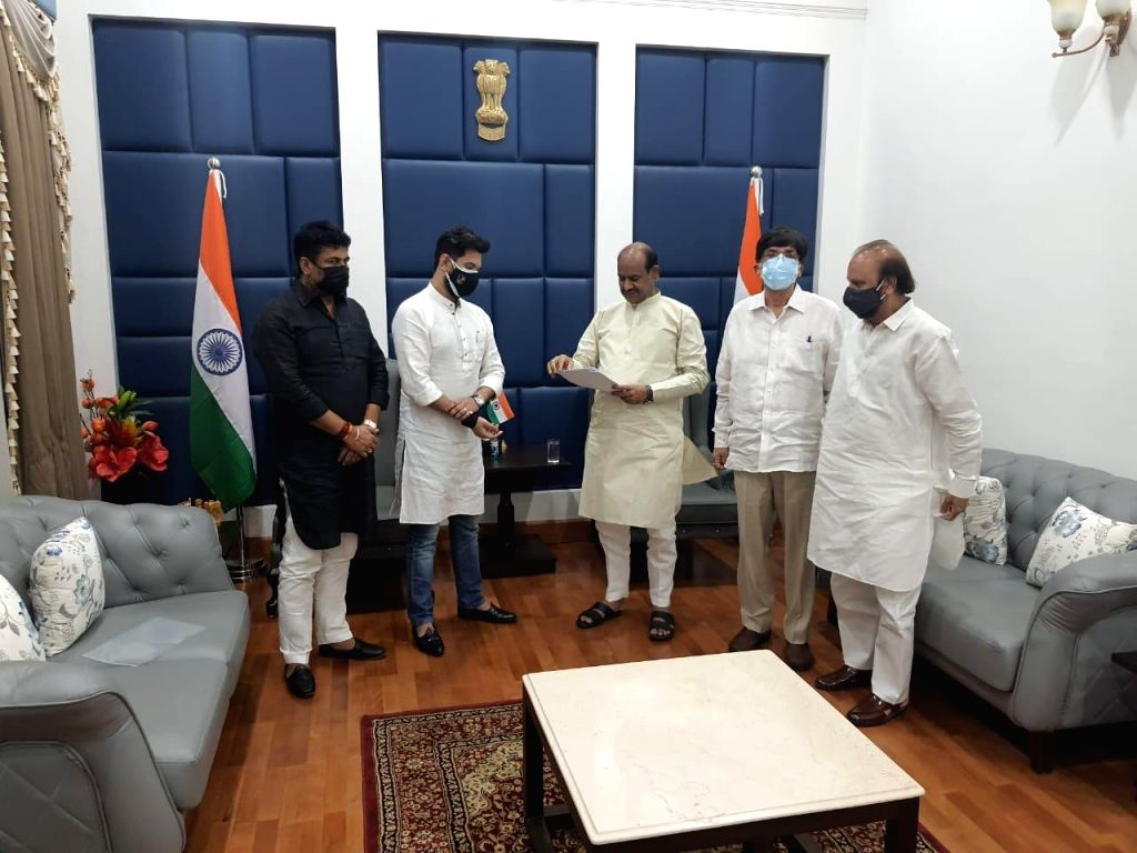 Chirag urges LS Speaker to review decision to appoint Paras as LJP leader.