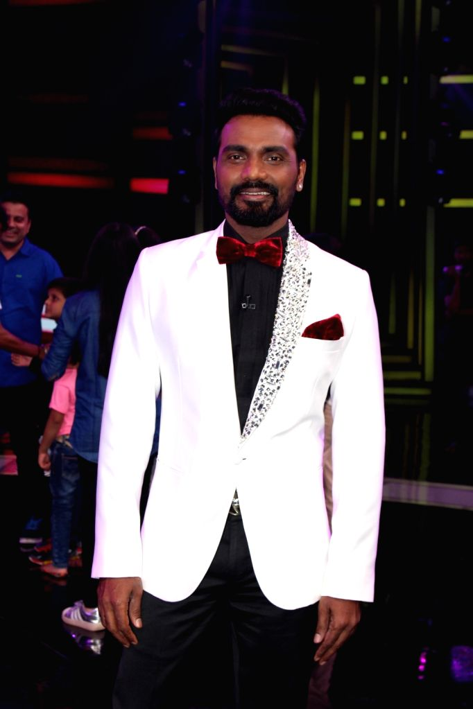 """Choreographer and judge Remo D'souza on the sets of television show """"Dance Plus Season 3""""  in Mumbai on July 2, 2017."""
