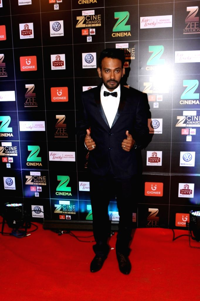 Choreographer Dharmesh Yelande during the Fair & Lovely Zee Cine Awards 2017 in Mumbai on March 11, 2017.