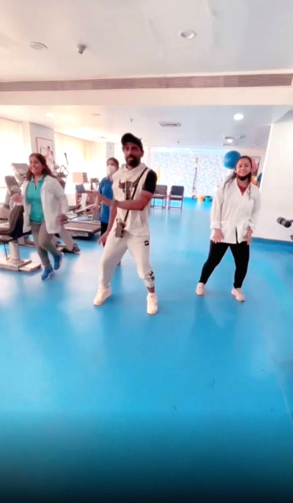 Choreographer-filmmaker Remo DSouza, who was admitted to hospital recently after suffering cardiac problems, on Monday revealed that he is dancing his way to recovery. (Instagram)
