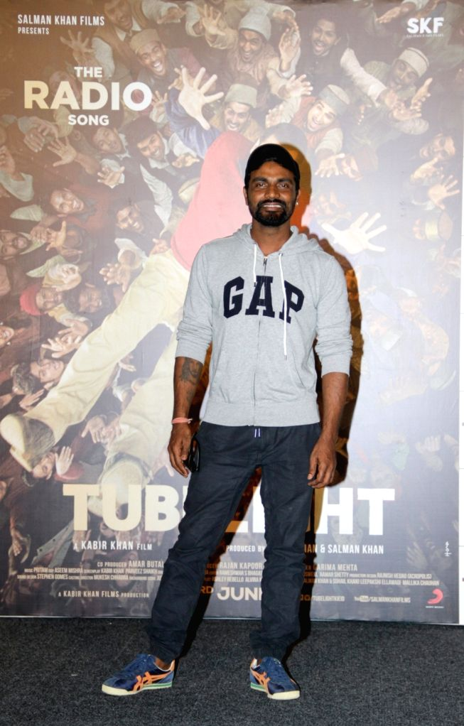 Choreographer Remo D'souza during the launch of first song of the film Tubelight, 'The Radio Song' in Mumbai on May 12, 2017.