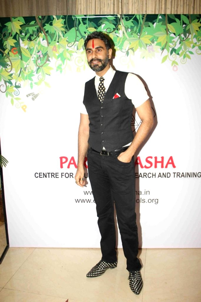 Choreographer Sandip Soparrkar at the seminar on The Art of Learning for Sustainable Tomorrow, in Mumbai on January 14, 2016.