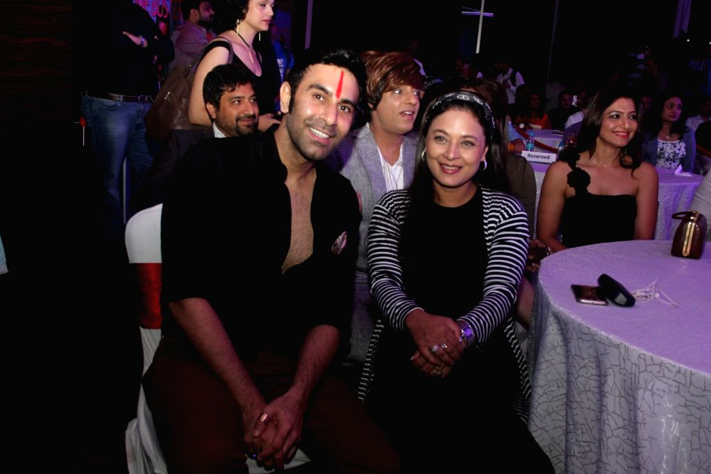 Choreographer Sandip Soparrkar during the launch of Cine Buster Magazine in Mumbai on June 10, 2017.