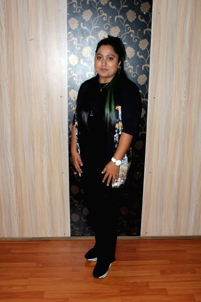 """Choreographer Shabina Khan talk about her Song """"Naach Meri Jaan"""" during a press conference organised to promote upcoming film Tubelight in Mumbai, on June 14, 2017. - Shabina Khan"""
