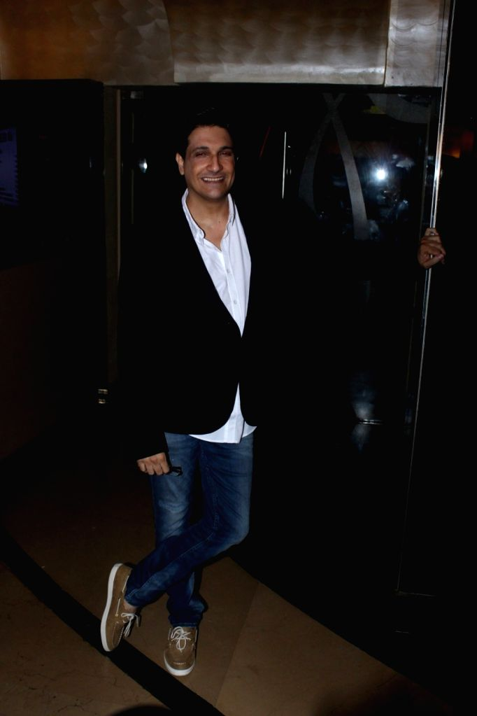 Choreographer Shiamak Davar during the music launch of marathi film Hrudayantar in Mumbai, on June 10 2017.